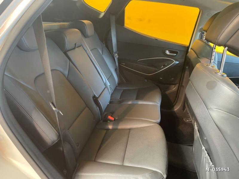 Hyundai Santa Fe 2.2 CRDi 197ch 4WD Creative BVA Beige occasion à Saint-Maximin - photo n°5
