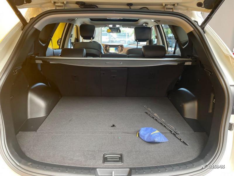 Hyundai Santa Fe 2.2 CRDi 197ch 4WD Creative BVA Beige occasion à Saint-Maximin - photo n°14