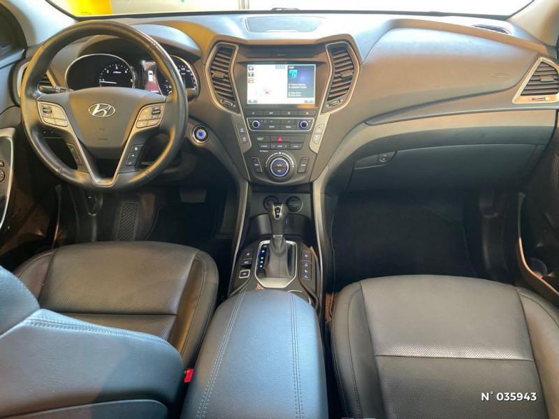 Hyundai Santa Fe 2.2 CRDi 197ch 4WD Creative BVA Beige occasion à Saint-Maximin - photo n°10