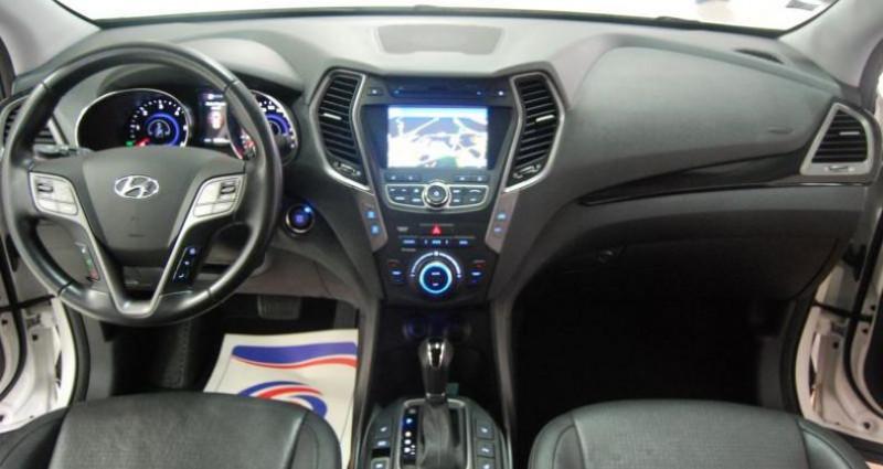 Hyundai Santa Fe SANTAFE 2.2 CRDI 197ch PREMIUM 4WD  occasion à HAGUENEAU - photo n°3