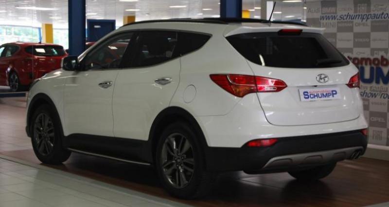 Hyundai Santa Fe SANTAFE 2.2 CRDI 197ch PREMIUM 4WD  occasion à HAGUENEAU - photo n°2