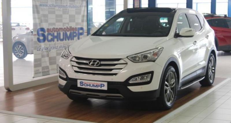 Hyundai Santa Fe SANTAFE 2.2 CRDI 197ch PREMIUM 4WD  occasion à HAGUENEAU