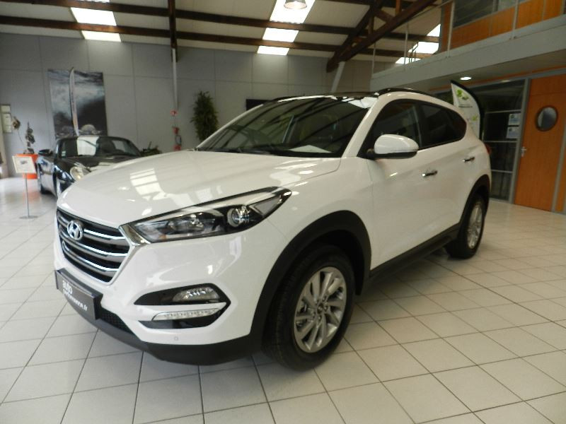 Hyundai Tucson (UE) 1.7 CRDI 115 BUSINESS 2WD Blanc occasion à Quimper