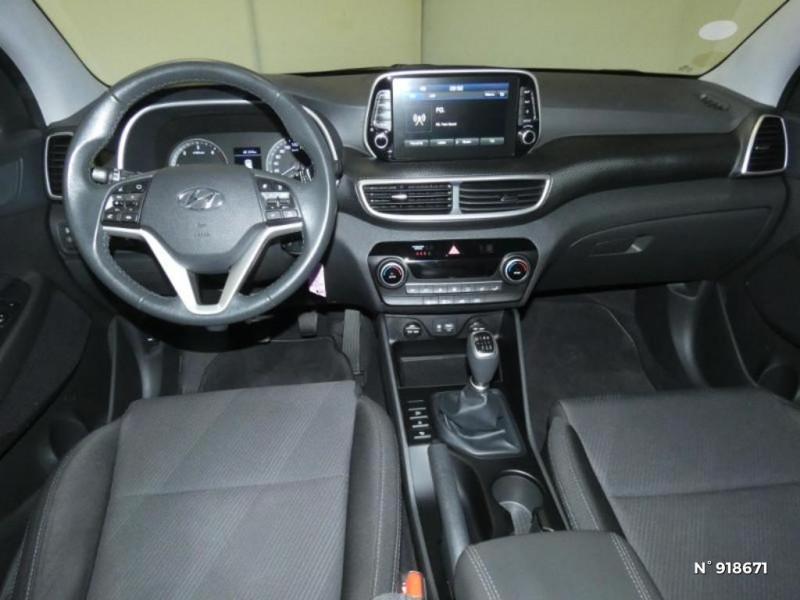 Hyundai Tucson 1.6 CRDI 115ch Business Noir occasion à Cesson - photo n°8