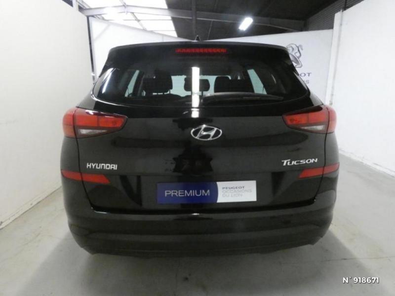 Hyundai Tucson 1.6 CRDI 115ch Business Noir occasion à Cesson - photo n°5