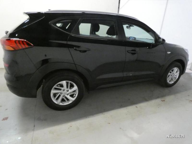 Hyundai Tucson 1.6 CRDI 115ch Business Noir occasion à Cesson - photo n°4