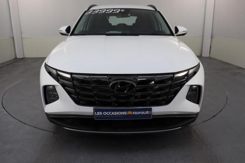 Hyundai Tucson 1.6 CRDi 136 hybrid 48V DCT-7 Creative Blanc occasion à Semécourt - photo n°2