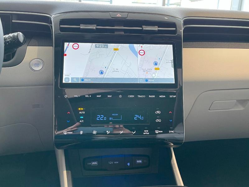 Hyundai Tucson 1.6 CRDI 136ch Hybrid 48v Executive DCT7 Bleu occasion à Muret - photo n°18
