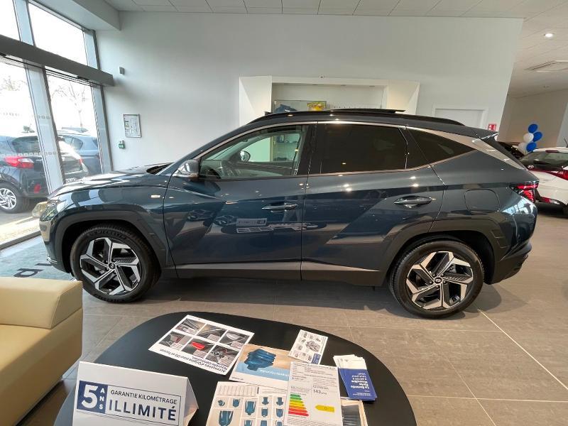 Hyundai Tucson 1.6 CRDI 136ch Hybrid 48v Executive DCT7 Bleu occasion à Muret - photo n°7