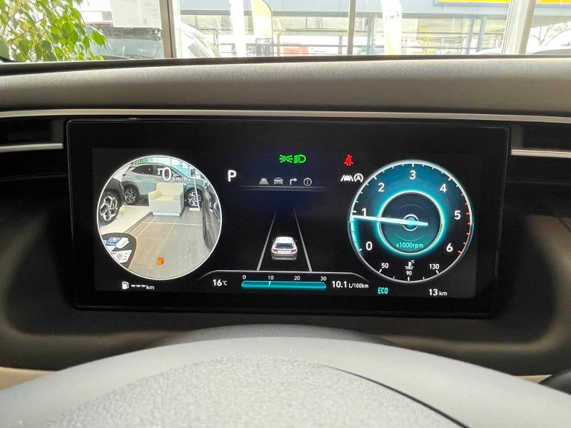 Hyundai Tucson 1.6 CRDI 136ch Hybrid 48v Executive DCT7 Bleu occasion à Muret - photo n°17