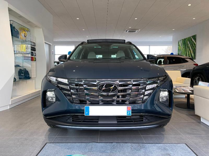 Hyundai Tucson 1.6 CRDI 136ch Hybrid 48v Executive DCT7 Bleu occasion à Muret - photo n°4