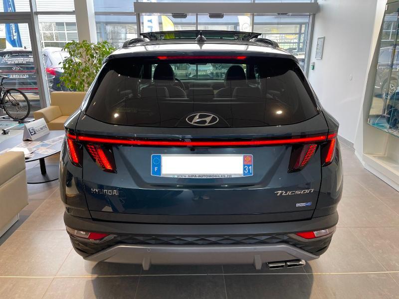 Hyundai Tucson 1.6 CRDI 136ch Hybrid 48v Executive DCT7 Bleu occasion à Muret - photo n°6