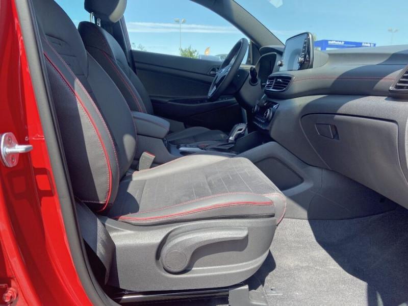 Hyundai Tucson 1.6 CRDI MILD-HYBRID48V 136 DCT7 N LINE EDITION GPS JA19  occasion à Montauban - photo n°12