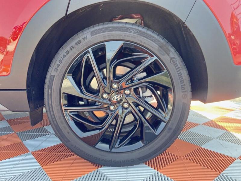 Hyundai Tucson 1.6 CRDI MILD-HYBRID48V 136 DCT7 N LINE EDITION GPS JA19  occasion à Montauban - photo n°8