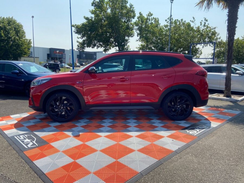 Hyundai Tucson 1.6 CRDI MILD-HYBRID48V 136 DCT7 N LINE EDITION GPS JA19  occasion à Montauban - photo n°4