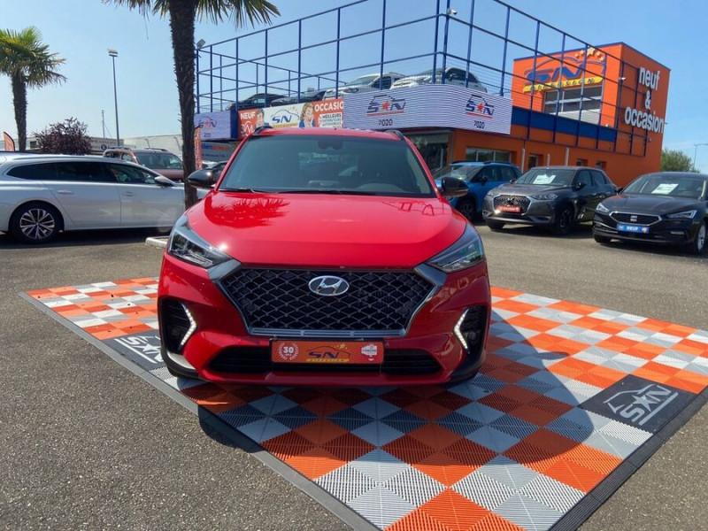 Hyundai Tucson 1.6 CRDI MILD-HYBRID48V 136 DCT7 N LINE EDITION GPS JA19  occasion à Montauban