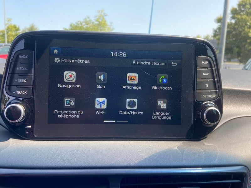 Hyundai Tucson 1.6 CRDI MILD-HYBRID48V 136 DCT7 N LINE EDITION GPS JA19  occasion à Montauban - photo n°19