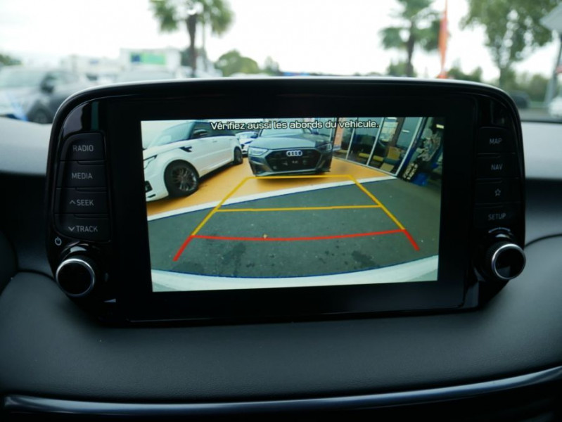 Hyundai Tucson 1.6 CRDI MILD-HYBRID48V 136 DCT7 N LINE EDITION GPS JA19 Blanc occasion à Cahors - photo n°18