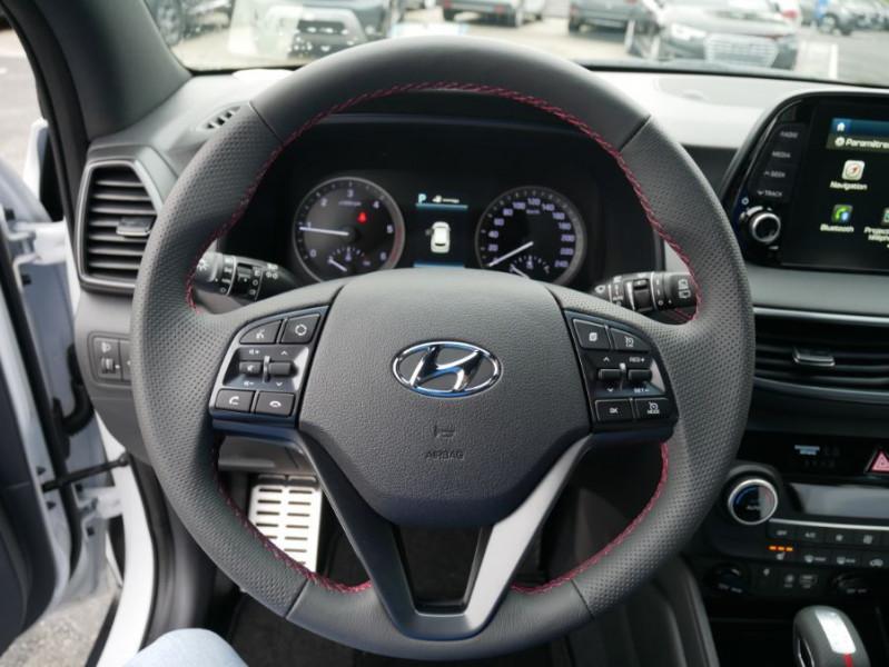 Hyundai Tucson 1.6 CRDI MILD-HYBRID48V 136 DCT7 N LINE EDITION GPS JA19 Blanc occasion à Cahors - photo n°20