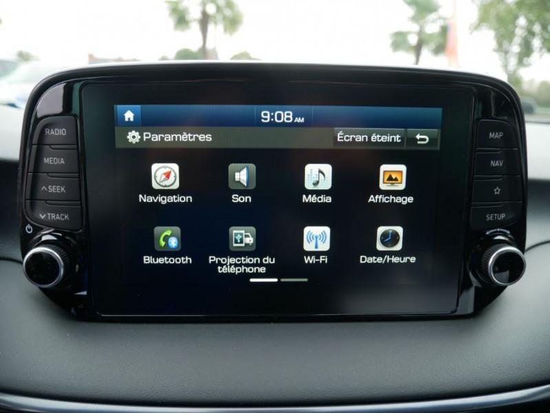 Hyundai Tucson 1.6 CRDI MILD-HYBRID48V 136 DCT7 N LINE EDITION GPS JA19 Blanc occasion à Cahors - photo n°19
