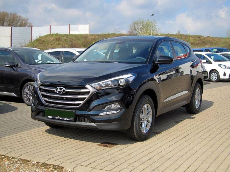 Hyundai Tucson 1.6 GDI 132 TREND 2WD Noir occasion à Quimper