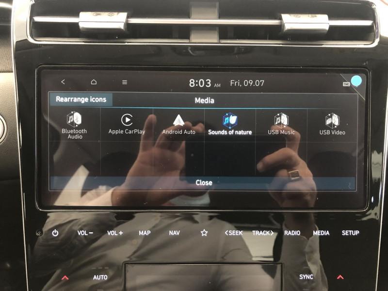 Hyundai Tucson 1.6 T-GDI 230CH HYBRID CREATIVE BVA6 Blanc occasion à FENOUILLET - photo n°11