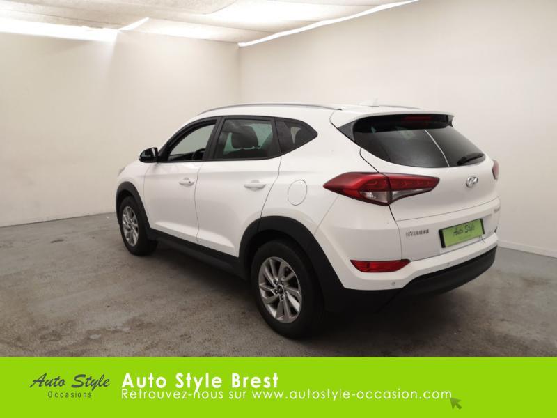 Hyundai Tucson 1.7 CRDI 115ch Business 2WD Blanc occasion à Brest - photo n°3