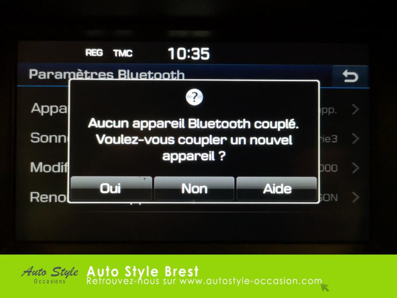 Hyundai Tucson 1.7 CRDI 115ch Business 2WD Blanc occasion à Brest - photo n°13