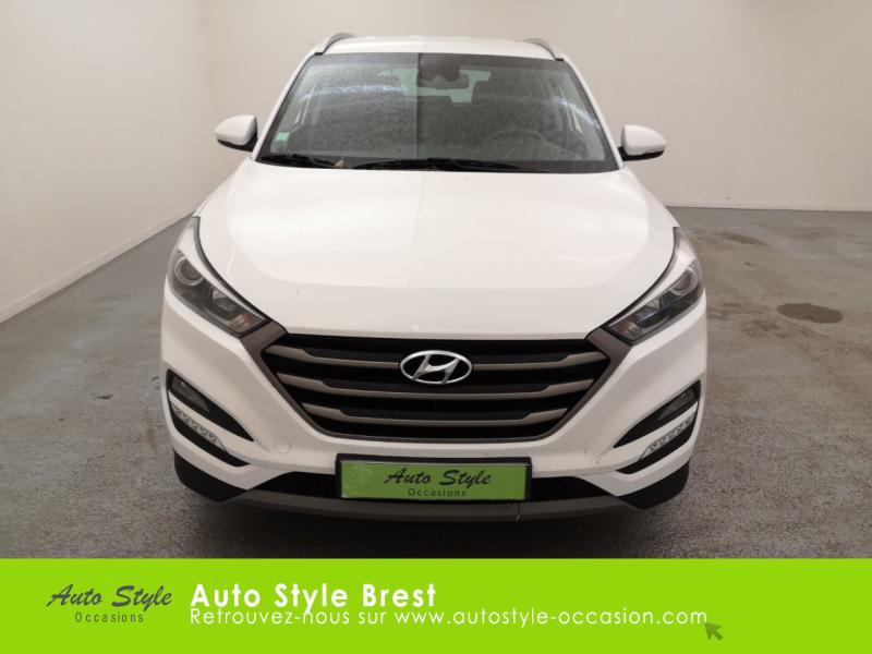 Hyundai Tucson 1.7 CRDI 115ch Business 2WD Blanc occasion à Brest - photo n°5