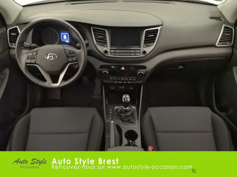Hyundai Tucson 1.7 CRDI 115ch Business 2WD Blanc occasion à Brest - photo n°6