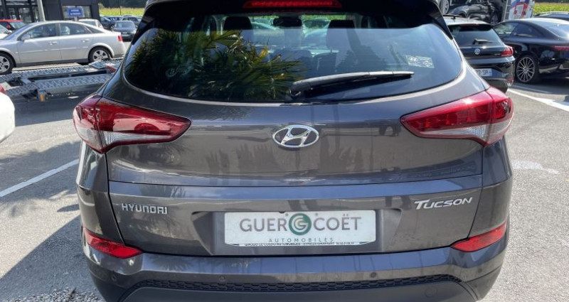 Hyundai Tucson 1.7 CRDI 115CH EDITION LOUNGE 2WD Marron occasion à GUER - photo n°4