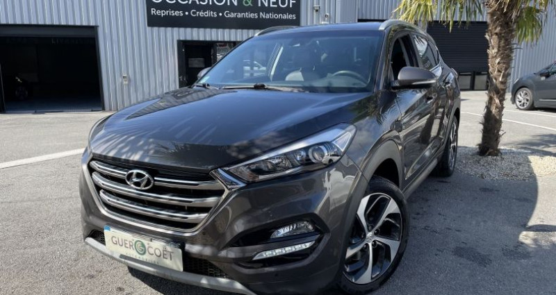 Hyundai Tucson 1.7 CRDI 115CH EDITION LOUNGE 2WD Marron occasion à GUER - photo n°2
