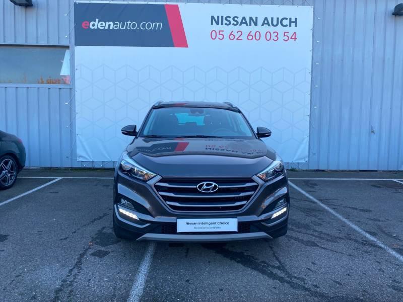 Hyundai Tucson 1.7 CRDi 141 2WD DCT-7 Business Gris occasion à Auch - photo n°5