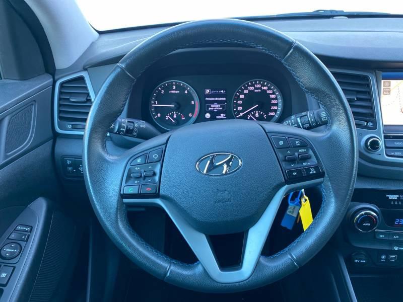 Hyundai Tucson 1.7 CRDi 141 2WD DCT-7 Business Gris occasion à Auch - photo n°7