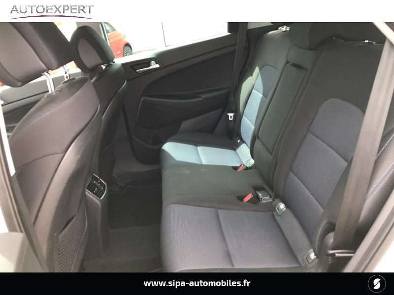 Hyundai Tucson 1.7 CRDI 141ch Business 2017 2WD DCT-7 Blanc occasion à Villenave-d'Ornon - photo n°11