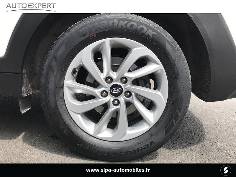 Hyundai Tucson 1.7 CRDI 141ch Business 2017 2WD DCT-7 Blanc occasion à Villenave-d'Ornon - photo n°7