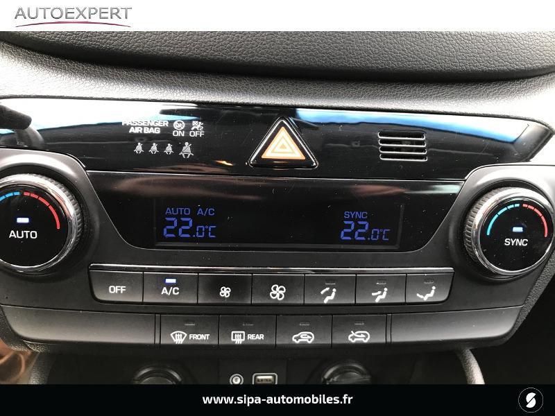 Hyundai Tucson 1.7 CRDI 141ch Business 2017 2WD DCT-7 Blanc occasion à Villenave-d'Ornon - photo n°14