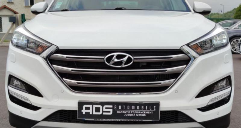 Hyundai Tucson II 1.7 CRDI 141ch Intuitive 2WD DCT-7 Blanc occasion à Diebling - photo n°2