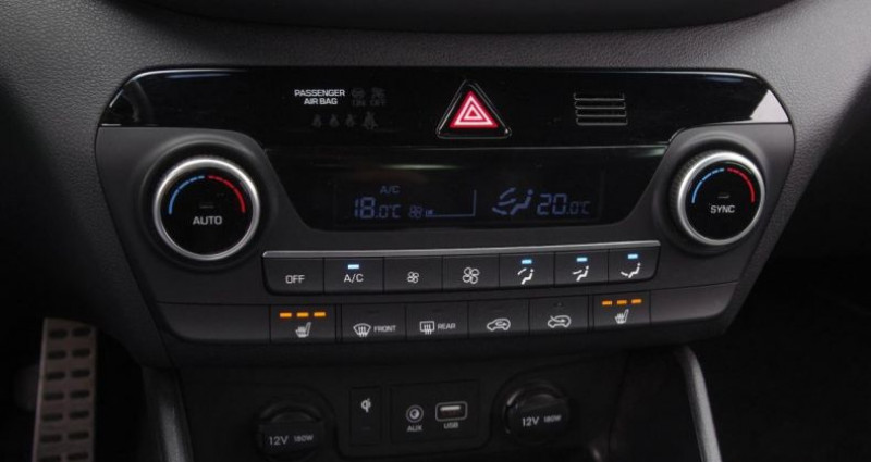 Hyundai Tucson III (2) 1.6 CRDI 115 HYBRID 48V N LINE Gris occasion à Chambourcy - photo n°7