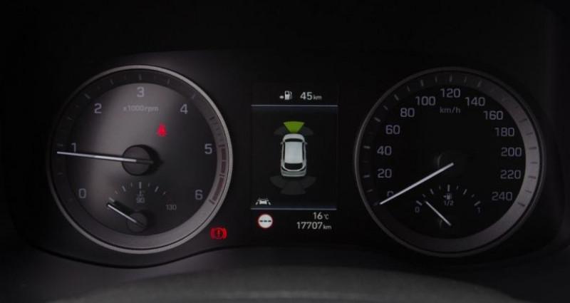 Hyundai Tucson III (2) 1.6 CRDI 115 HYBRID 48V N LINE Gris occasion à Chambourcy - photo n°5