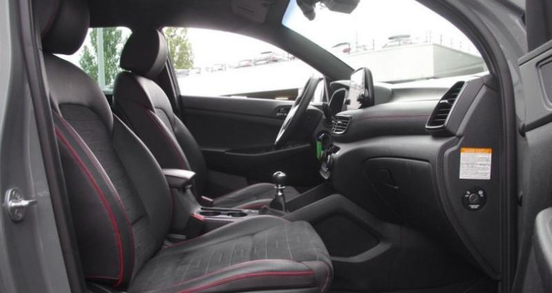 Hyundai Tucson III (2) 1.6 CRDI 115 HYBRID 48V N LINE Gris occasion à Chambourcy - photo n°3