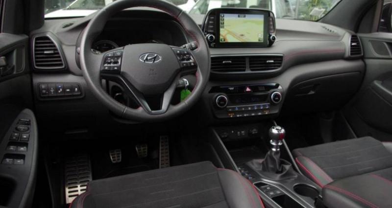 Hyundai Tucson III (2) 1.6 CRDI 115 HYBRID 48V N LINE Gris occasion à Chambourcy - photo n°2