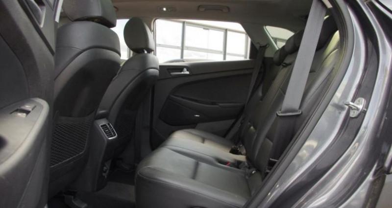 Hyundai Tucson III (2) 1.6 CRDI 136 EXECUTIVE DCT-7 Gris occasion à Chambourcy - photo n°4