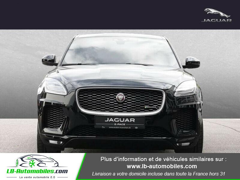 Jaguar E-pace 2.0 - 300 ch AWD BVA Noir occasion à Beaupuy - photo n°11