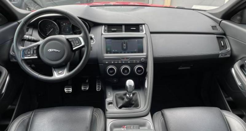 Jaguar E-pace 2.0D 150ch R-Dynamic S AWD Rouge occasion à AUBIERE - photo n°4