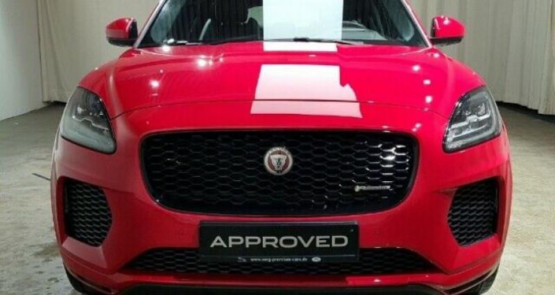 Jaguar E-pace 2.0P 250ch AWD BVA8 Rouge occasion à Boulogne-Billancourt - photo n°4