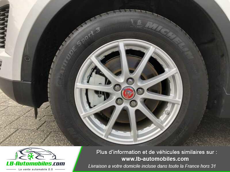 Jaguar E-pace D150 AWD Gris occasion à Beaupuy - photo n°10