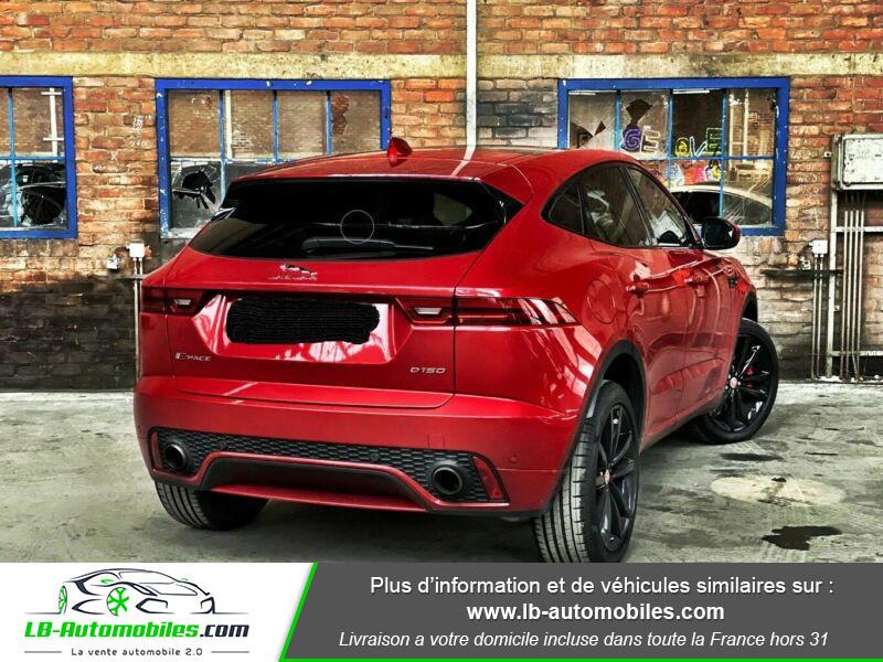 Jaguar E-pace D150 AWD Rouge occasion à Beaupuy - photo n°3