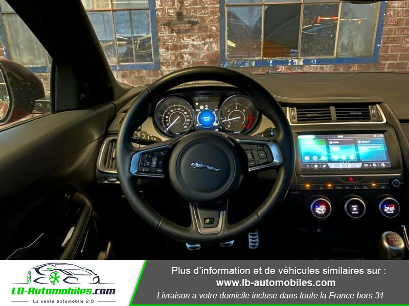 Jaguar E-pace D150 AWD Rouge occasion à Beaupuy - photo n°2