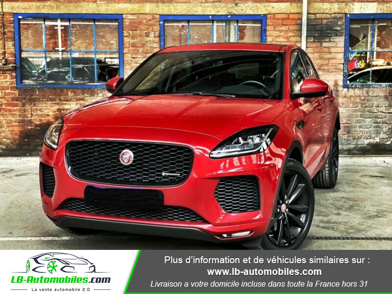Jaguar E-pace D150 AWD Rouge occasion à Beaupuy